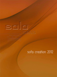 sala tsanis catalog 2012-2013